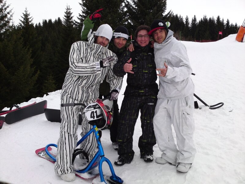 Psyco team et Ricou !
