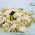 Poulet aux courgettes et épices