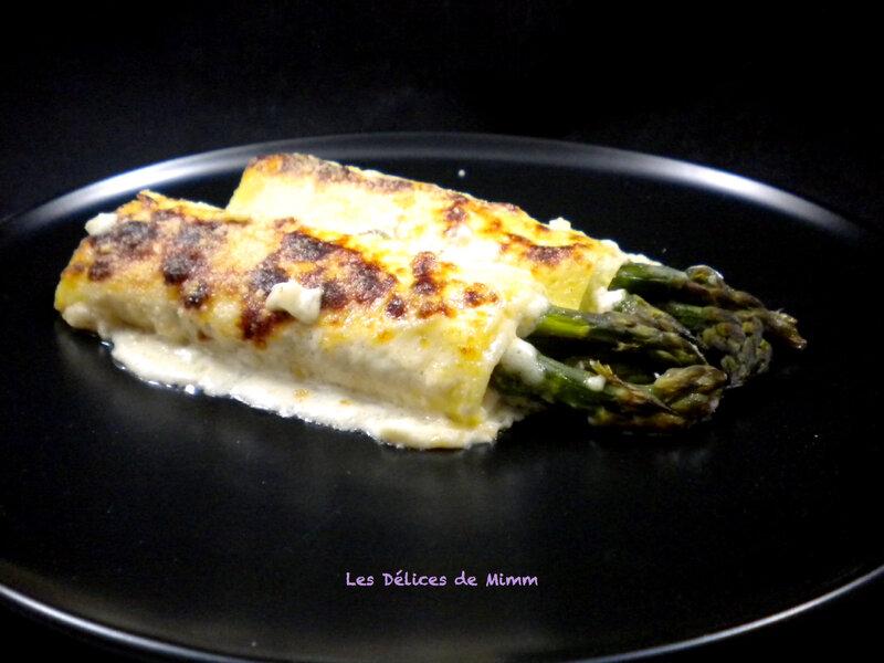 Cannelloni aux asperges vertes et au jambon de Parme 5