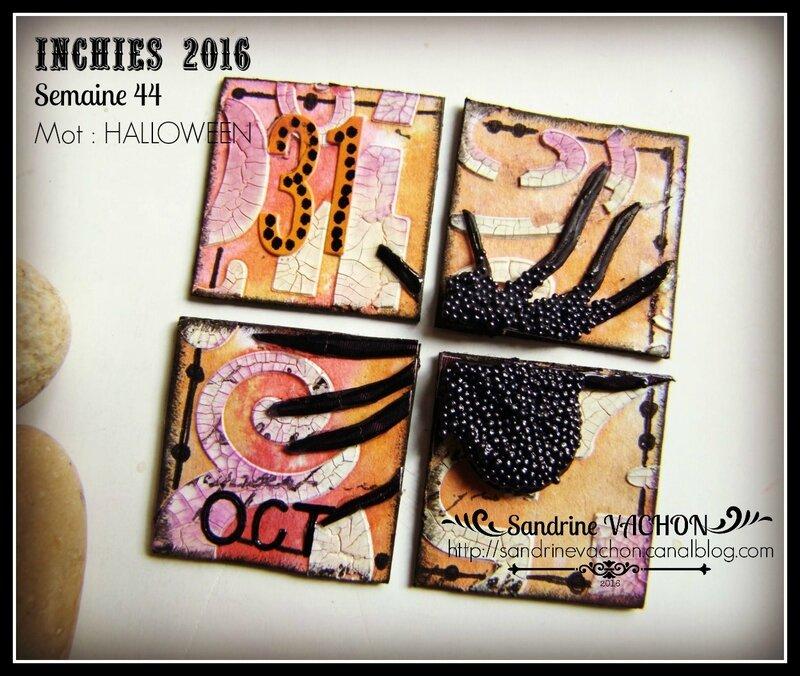 Sandrine VACHON inchies semaine 44 - 1
