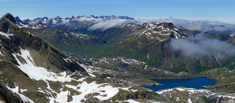 Lie Labate del Bozo, le lac d'Estaens