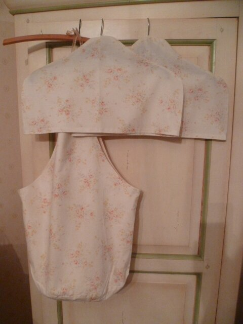 NEW SET OF TWO Covered Coat Hanger + ONE BAG High quality fabrics from Fat Quarter Shop