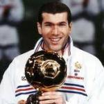 ballon d'or zidane 1998