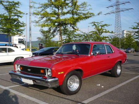 CHEVROLET Nova 2door coupé 1974 Offenbourg (1)