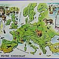 Images ... cartes le tour du monde de toby * chocolat tobler