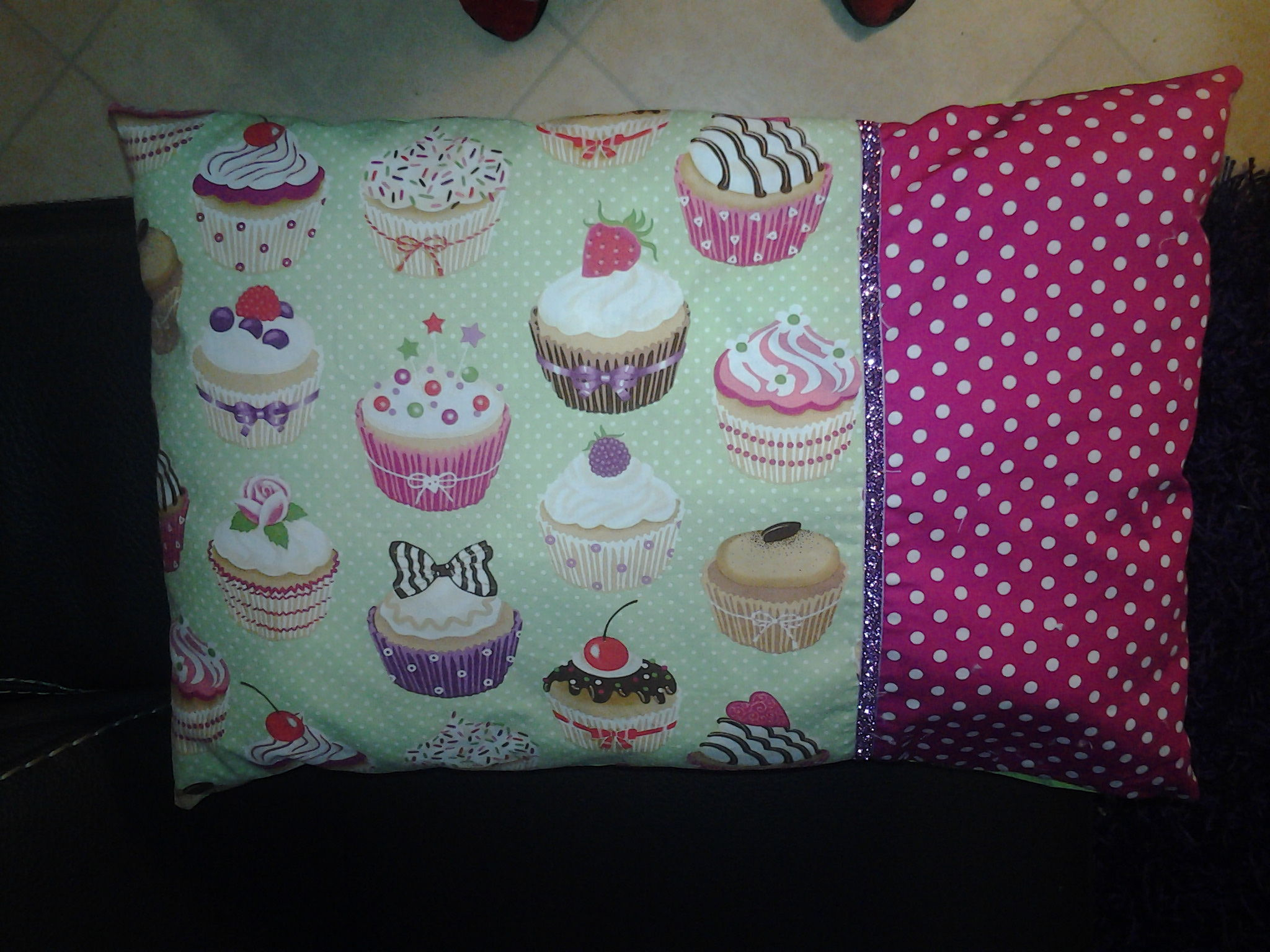 Coussin cupcake.... so cute!!