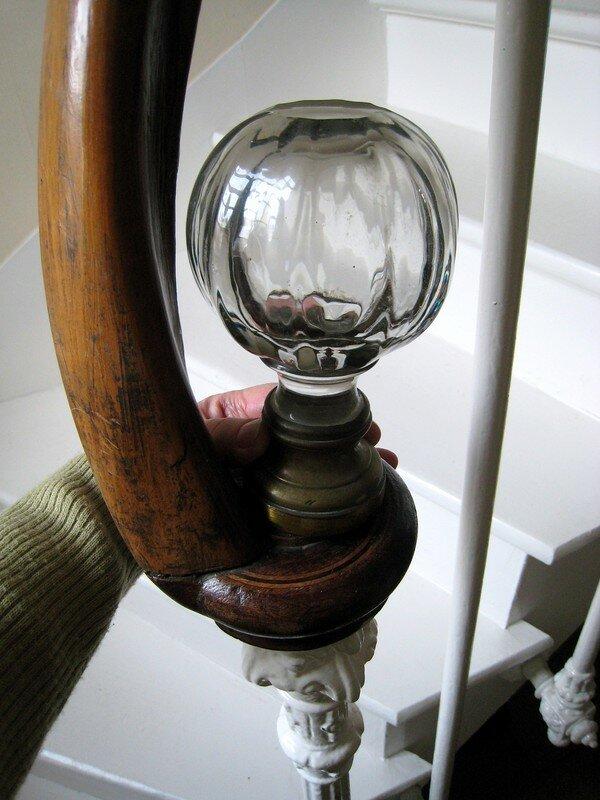 Boule D Escalier Reflets Argent