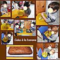 Pâtisserie : cake à la banane