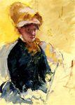 Mary Cassatt autoportrait 1880