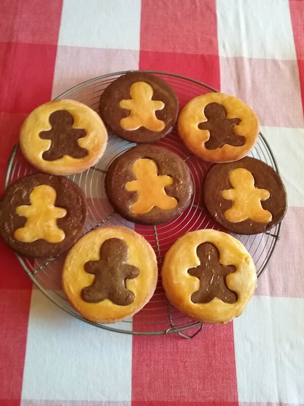 Biscuits Bonhomme vanille chocolat 042
