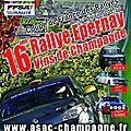 Rallye epernay-vins de champagne 2012