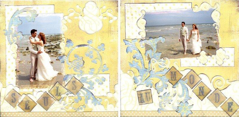Page 30 x 30 cm : Seuls au monde
