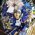 Ma derniére création, un masque de venise, une première pour moi !