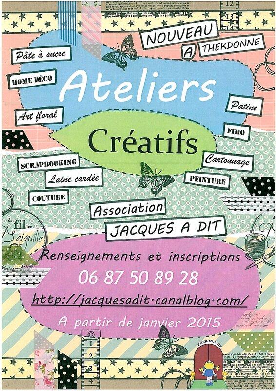 Affiche Ateliers JAD 2015