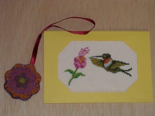 Colibri en jaune