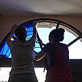 Pose vitrail - Clotilde Gontel