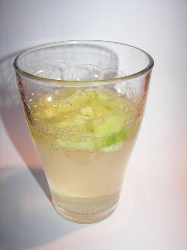 Vodka/concombres