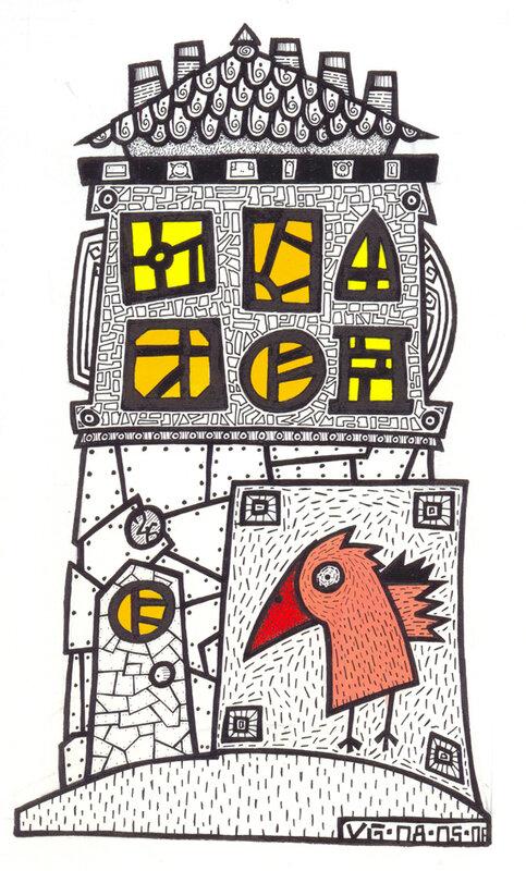 la maison à l'oiseau
