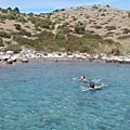 Croisière en voilier de vodice à opatija ar. vidéo de la baignade au sud de dugi otok, après le prolaz mala proversa, 15 avril