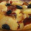 Le clafoutis de pommes de terre et chorizo de perrine, sans gluten et sans lactose