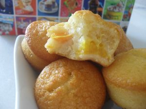 Muffins aux pêches 2