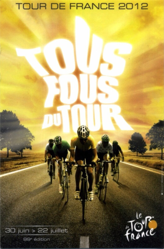 CPM Affiche Tour de France 2012