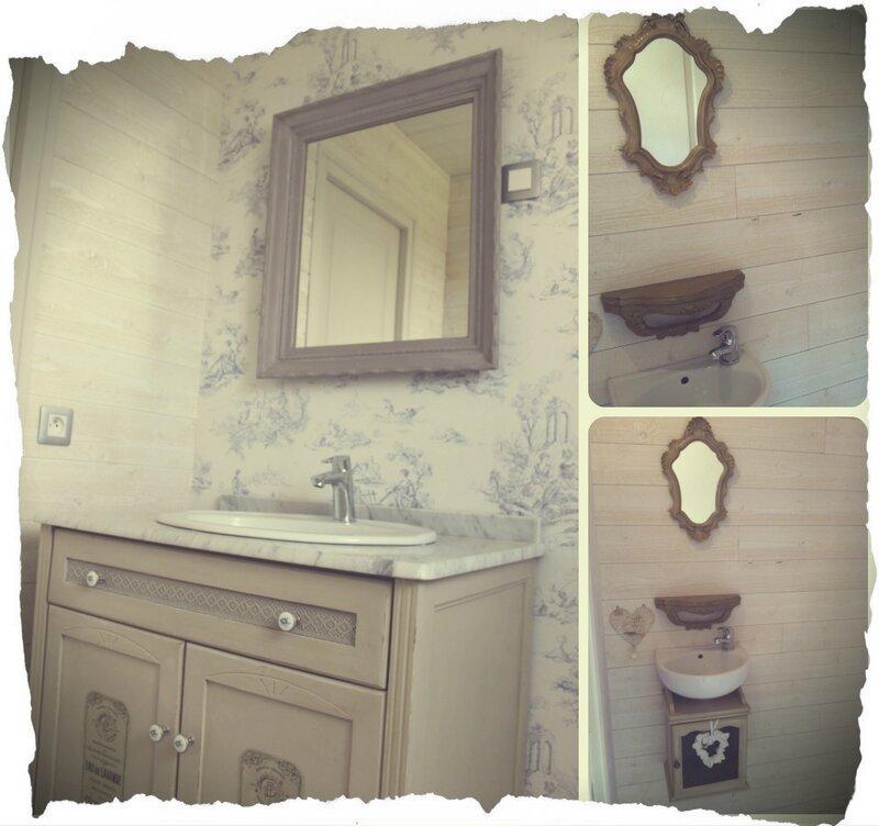 salle de bains et toilettes
