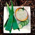 Masque au concombre (peaux mixtes/grasses)
