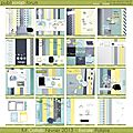 Kit escale polaire de publiscrap