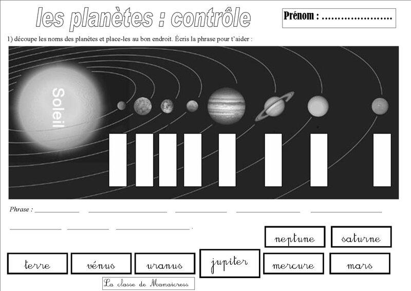 contrôle le système solaire 1