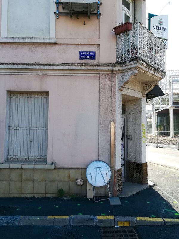 grande rue des Forges (plaque), 20 mai 2018