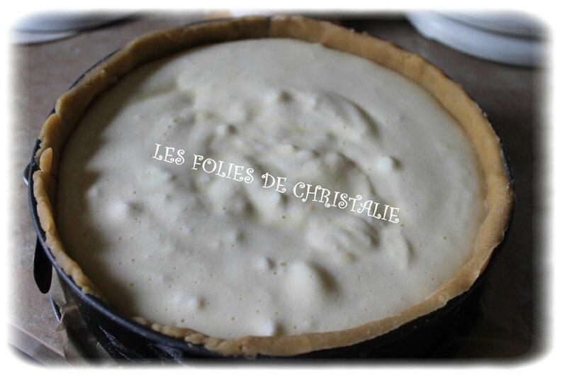 Tarte au fromage blanc 8