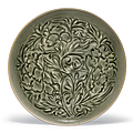 A large carved yaozhou bowl, northern song dynasty, 12th century