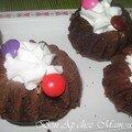 Nids au chocolat façon donuts aux smarties