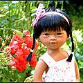Maya une fille en rose