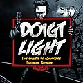 Doigt light - gordon zola - editions du léopard masqué