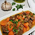 Boeuf bourgignon - inspiration anthony bourdain