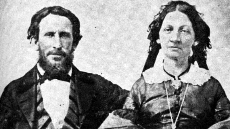 James F. and Margaret (Keyes) Reed, who were members of the Donner Party
