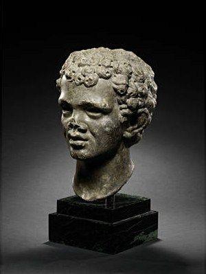 A_Roman_dark_grey_marble_portrait_head_of_an_African_youth_2