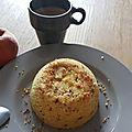 Bowlcake estival sans gluten au pralin
