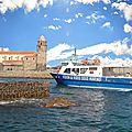 Collioure : entre mer et montagne
