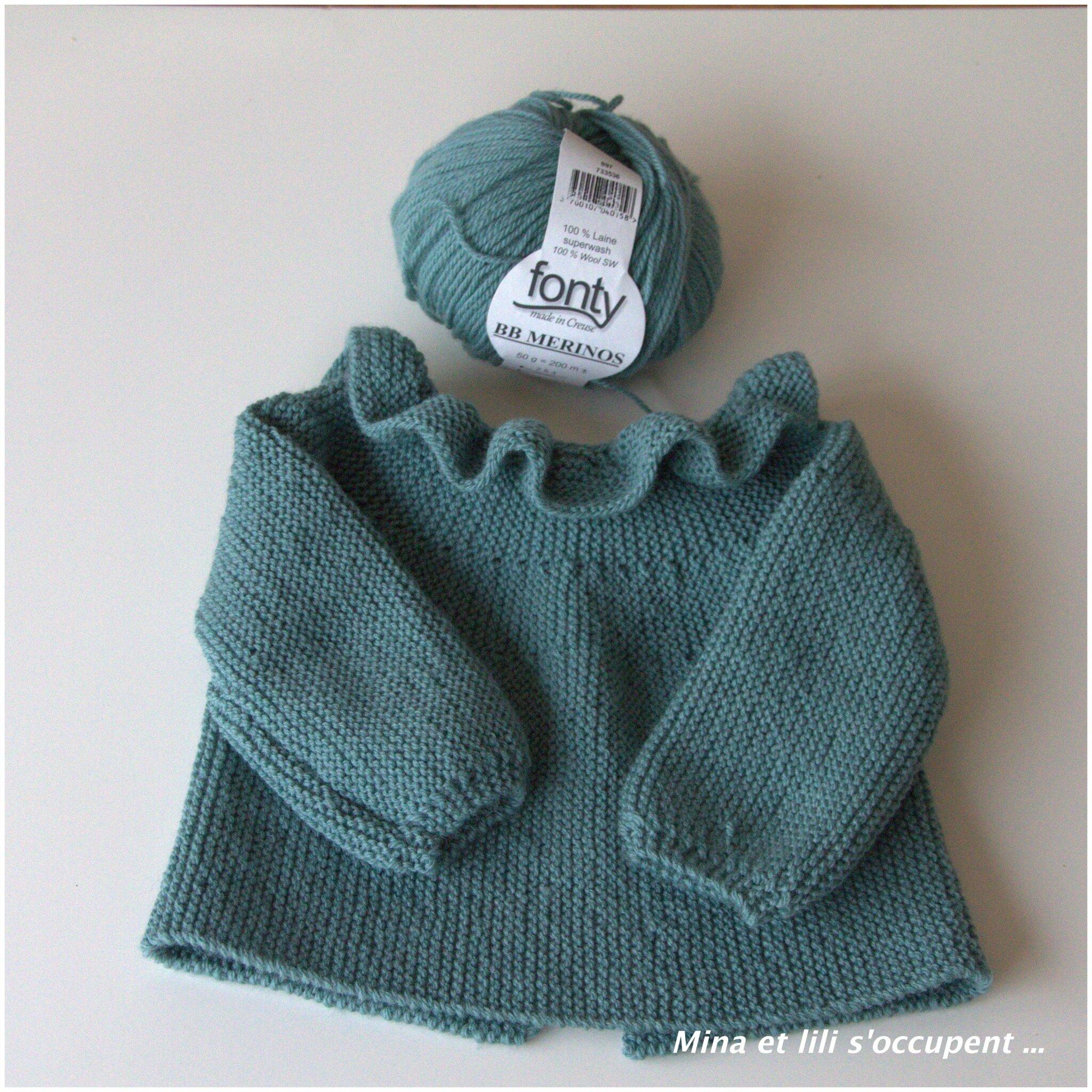 Rangs raccourcis revisités... - je tricote Citronille efaf686ad88