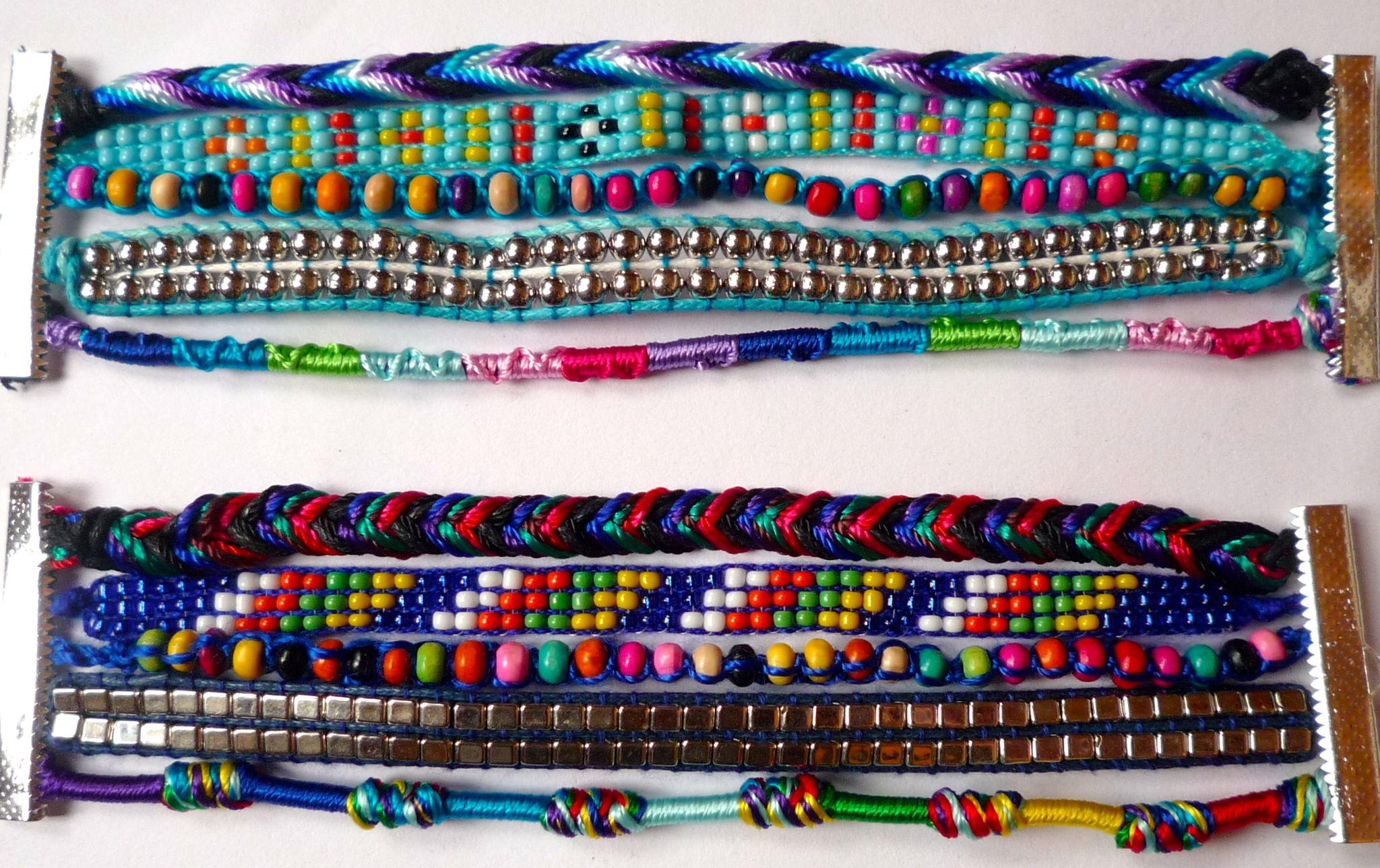 Manchette Brésilienne - Bracelets Brésiliens 'Hipanema Style'