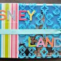 Mini-album disneyland