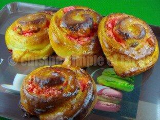 escargot pralines roses 10