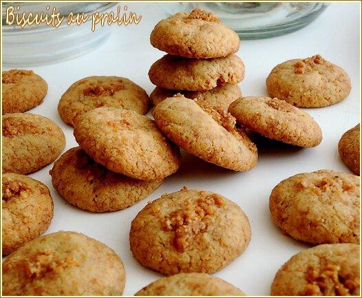 biscuits au pralin