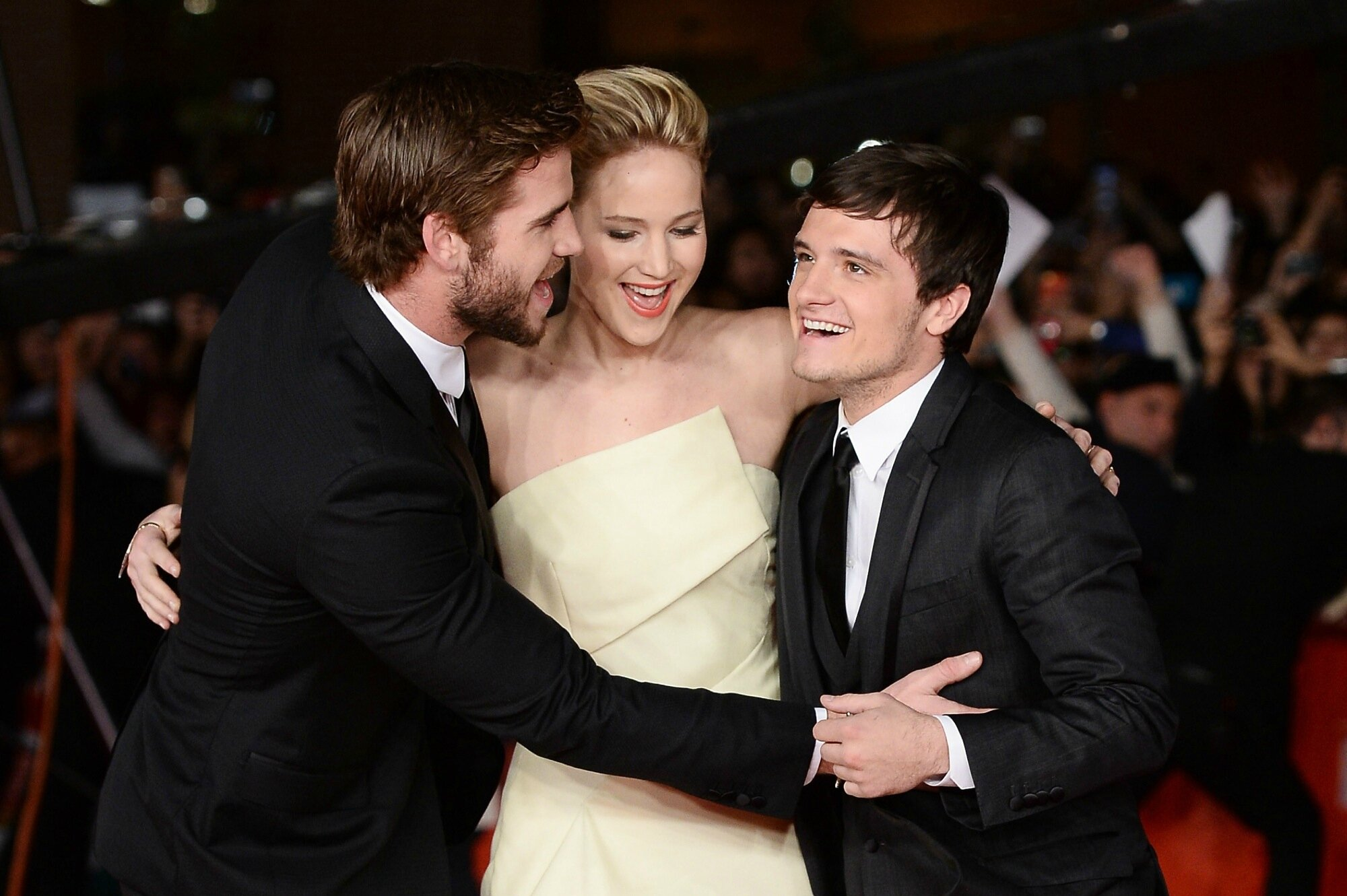 Catching Fire Premiere Rome10