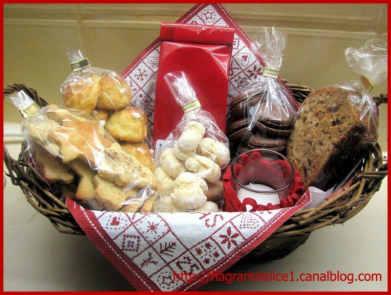 Paniers de Noël  les recettes! - Flagrant Délice 584be6b9d81