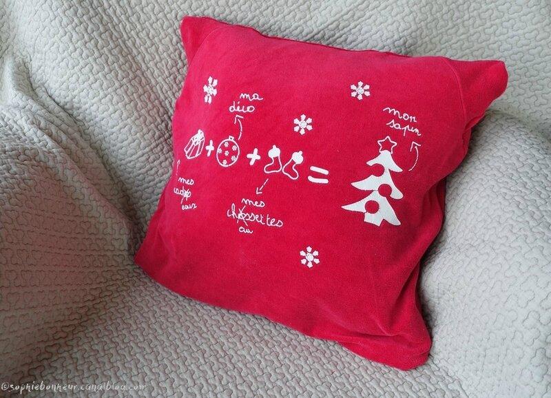 coussin Noël