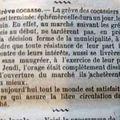 La greve des cocassiers ..... en 1909.......